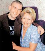 Екатерина Германовна с сыном Андреем